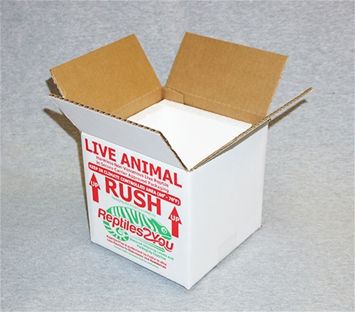 Insulated Reptile Shipping Box (7x7x7)